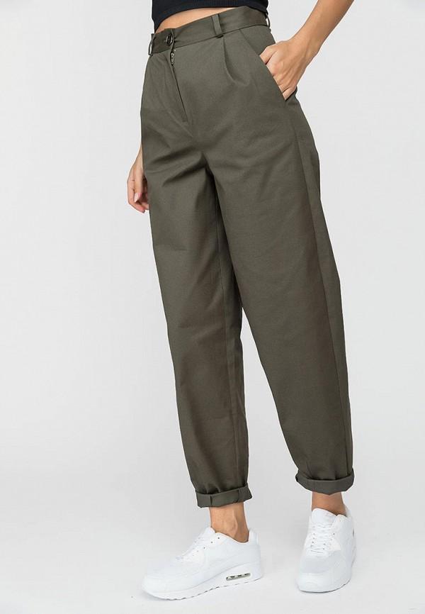 женские повседневные брюки gloss, хаки