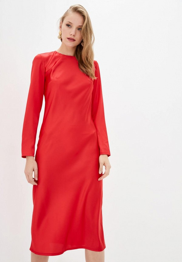 женское вечерние платье jhiva, красное