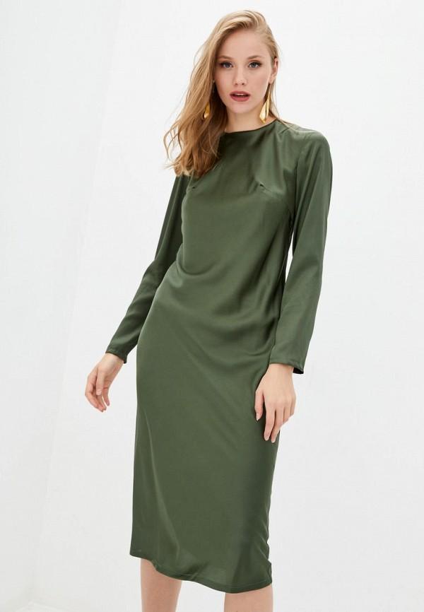 женское вечерние платье jhiva, зеленое