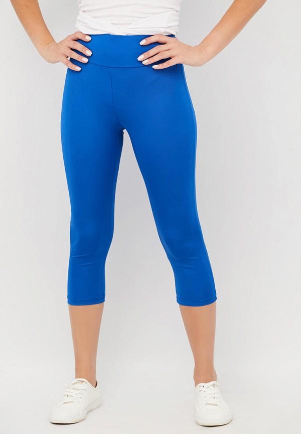 женские капри alana, синие