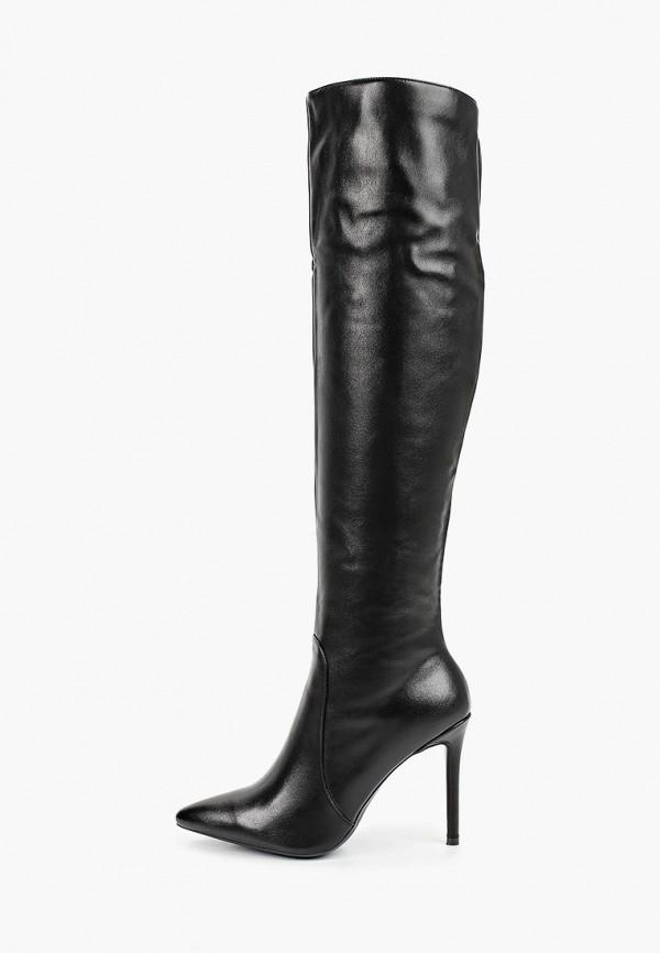 женские ботфорты inario, черные