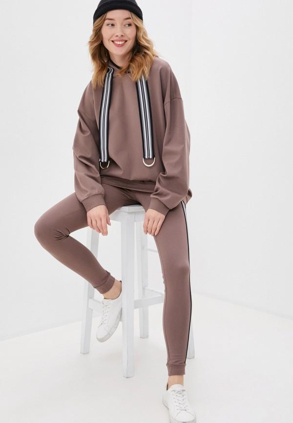 женский костюм ruxara, коричневый