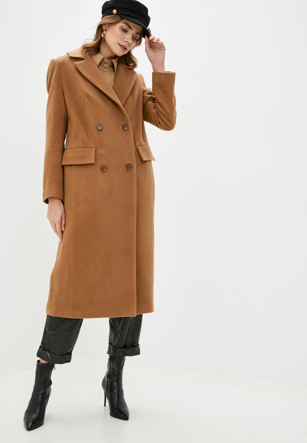 Пальто Anastasya Barsukova Anastasya Barsukova  коричневый фото