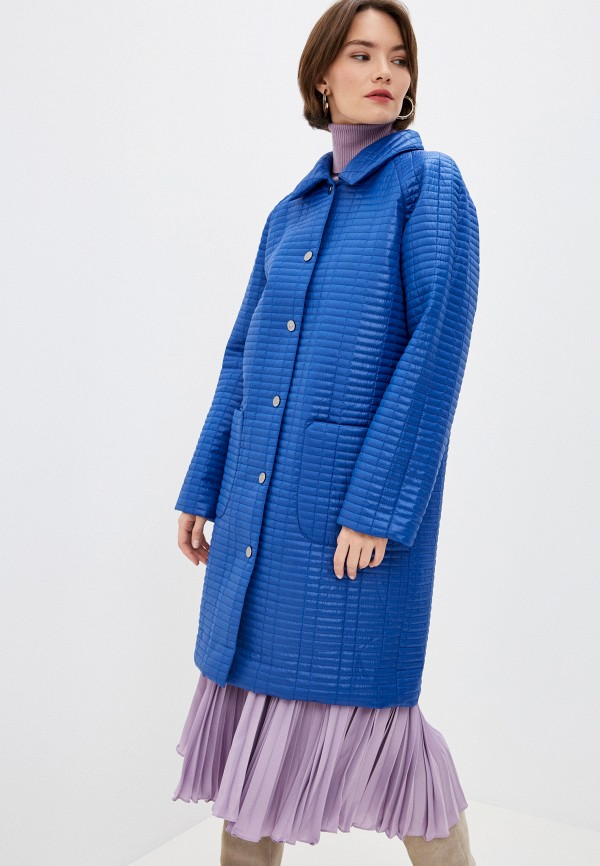 Куртка утепленная Anastasya Barsukova Anastasya Barsukova  синий фото
