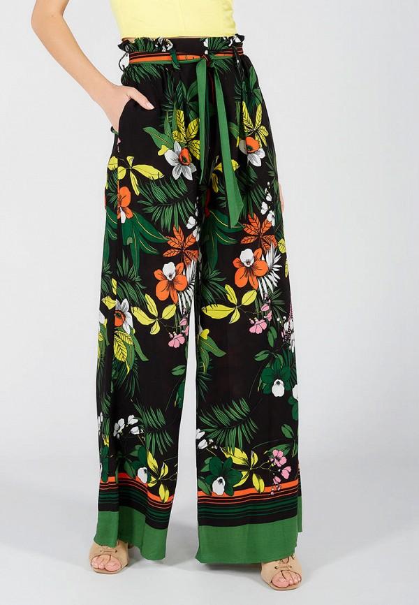 женские брюки клеш ora, черные