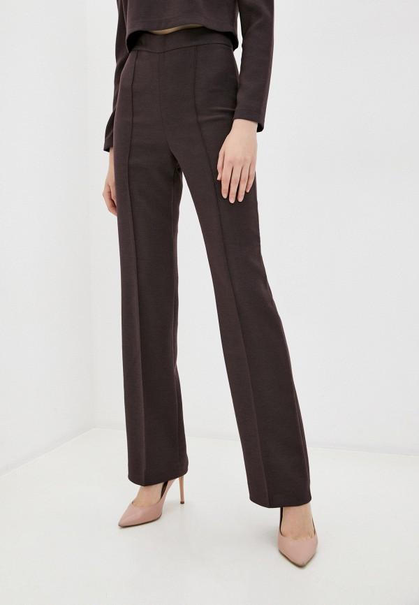 женские повседневные брюки climona, бордовые