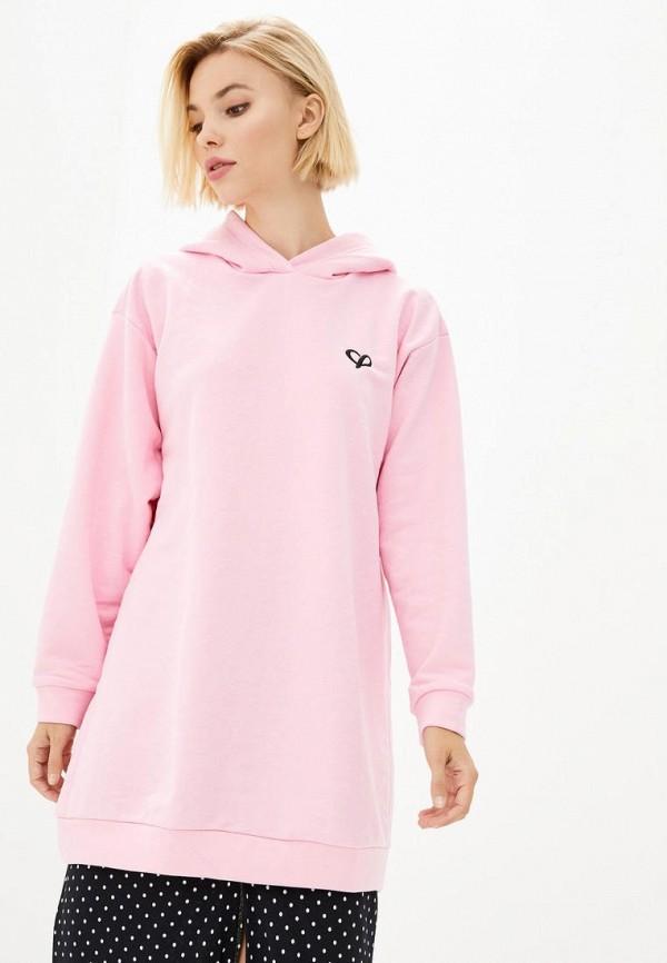 женская туника lilove, розовая