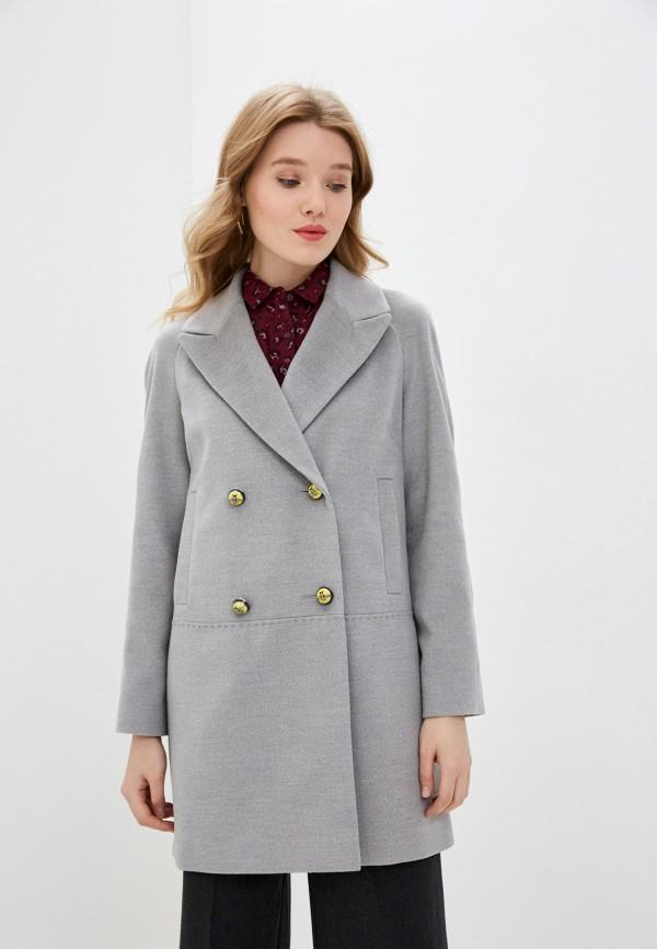 Пальто Anna Verdi Anna Verdi  серый фото
