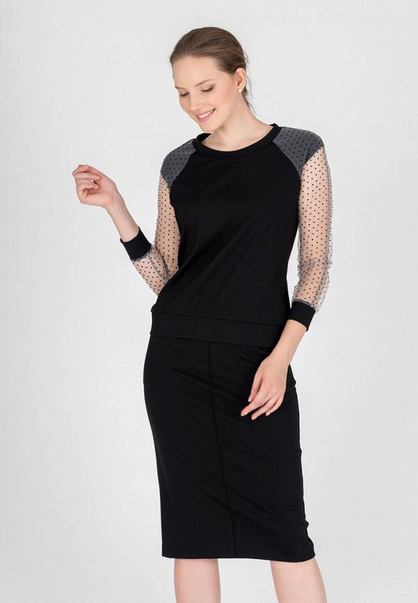 женский костюм eliseeva olesya, черный
