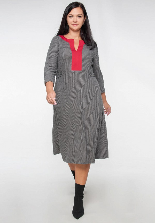 Платье Limonti серого цвета