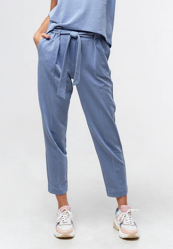 женские повседневные брюки ora, голубые