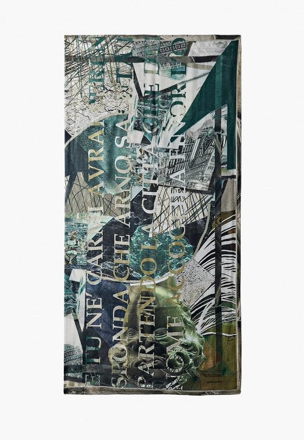 женский платок eleganzza, зеленый