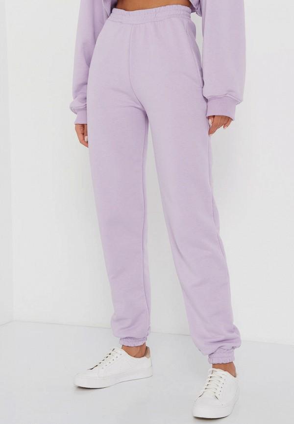 женские брюки джоггеры tina viliams, фиолетовые