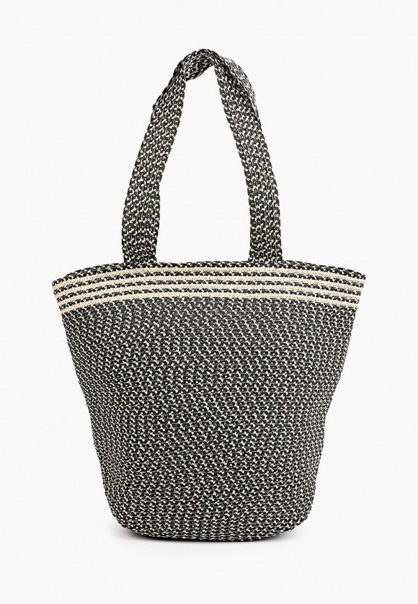 женская пляжные сумка модные истории, серая