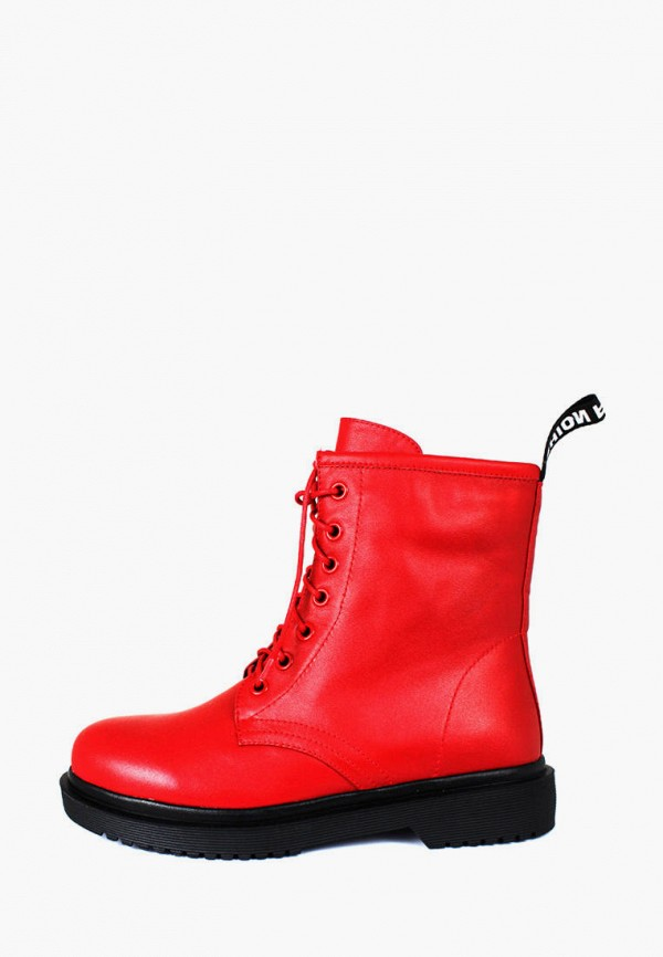 женские ботинки blizzarini, красные