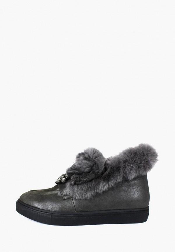 женские ботинки blizzarini, серые