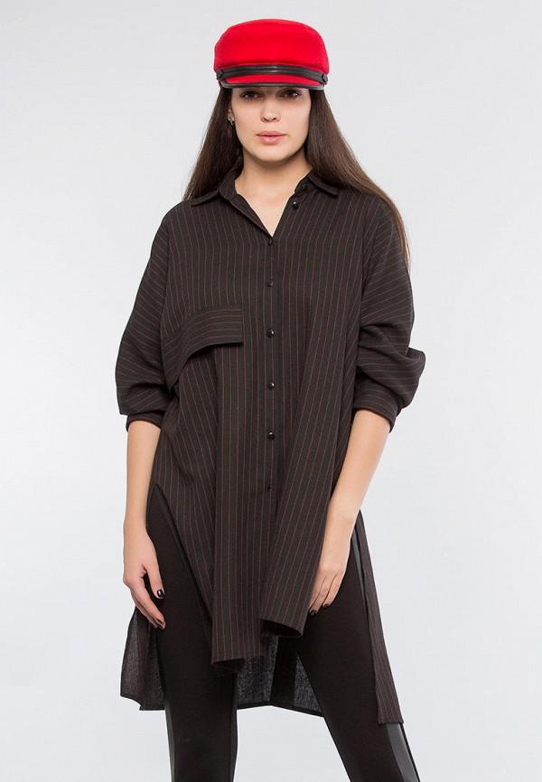 женская туника maxa, черная