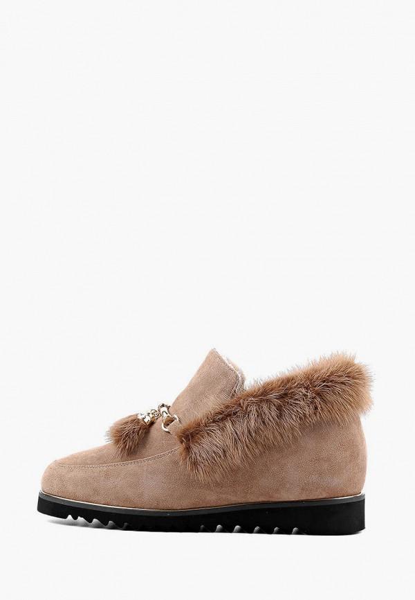 женские ботинки leberdes, бежевые