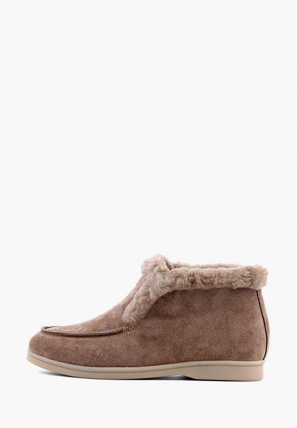 женские ботинки leberdes, коричневые