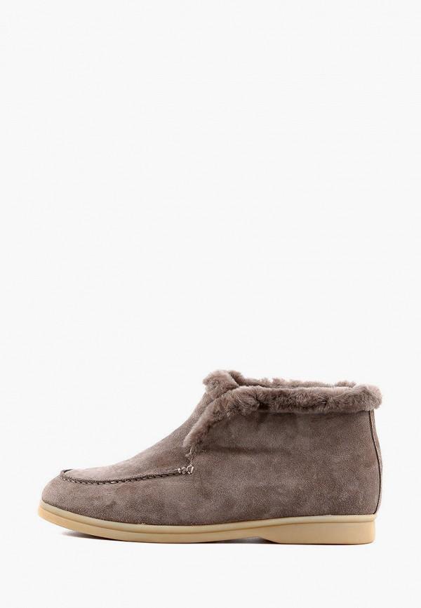 женские ботинки leberdes, серые
