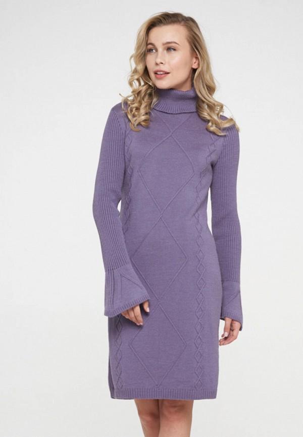 женское платье-свитеры vay, фиолетовое