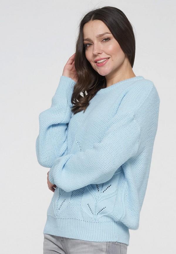 женский джемпер vay, голубой