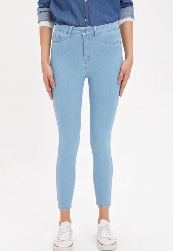 женские джинсы defacto, голубые