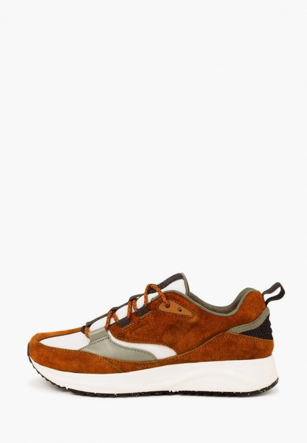женские кроссовки woden, коричневые