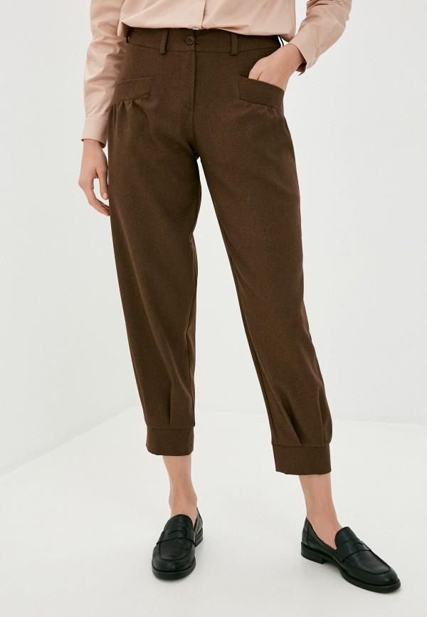 женские повседневные брюки viserdi, коричневые