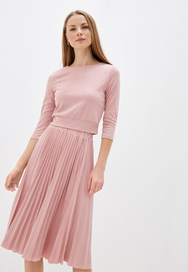 женский костюм avemod, розовый