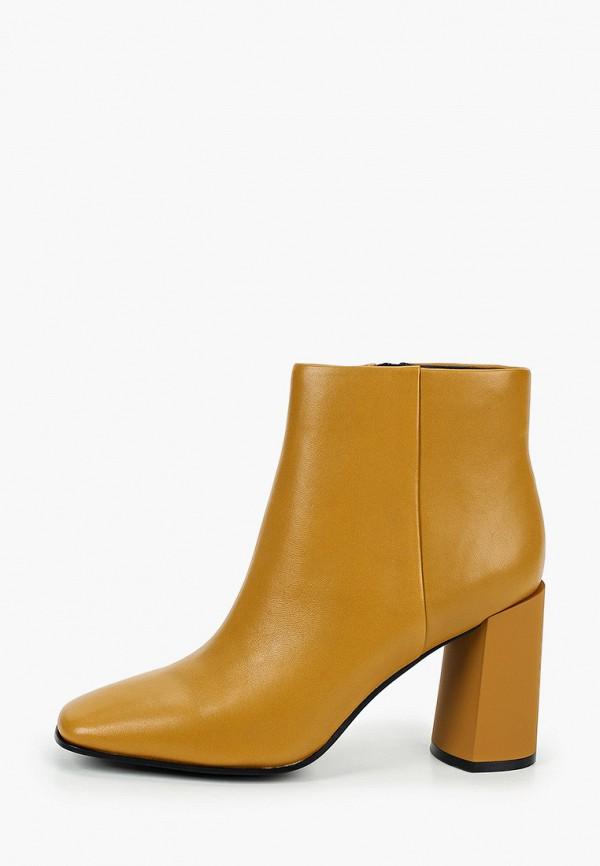женские высокие ботильоны graciana, желтые