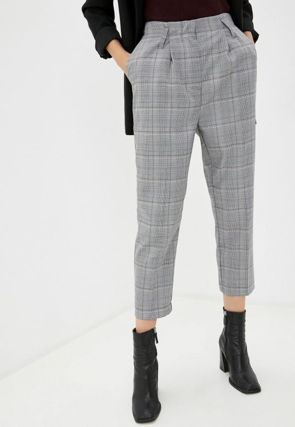 женские классические брюки vilatte, серые