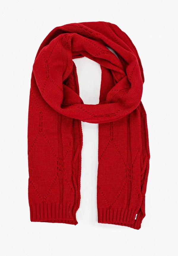 женский шарф self made, красный