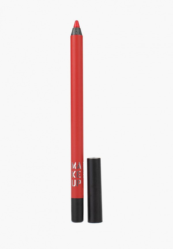 женский карандаш для губ make up factory, красный