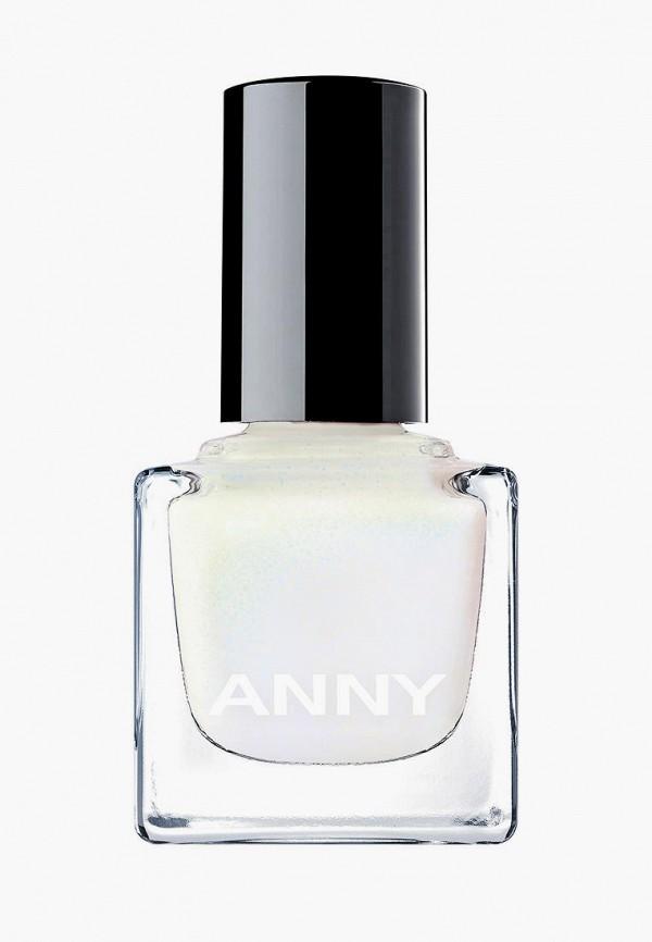 женский лак для ногтей anny, белый