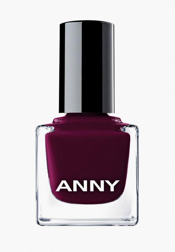 женский лак для ногтей anny, бордовый