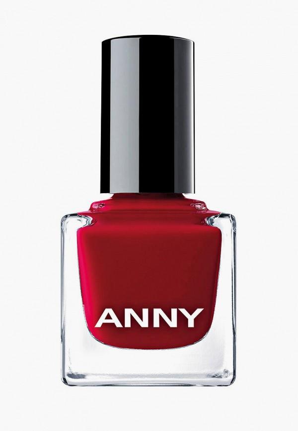 женский лак для ногтей anny, красный