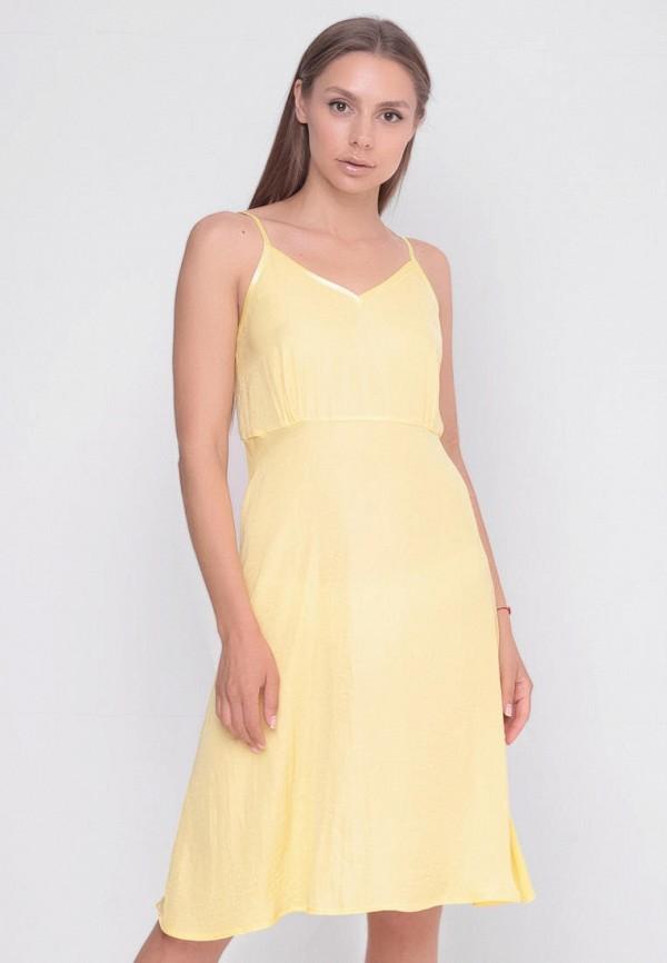 женский сарафан sfn, желтый