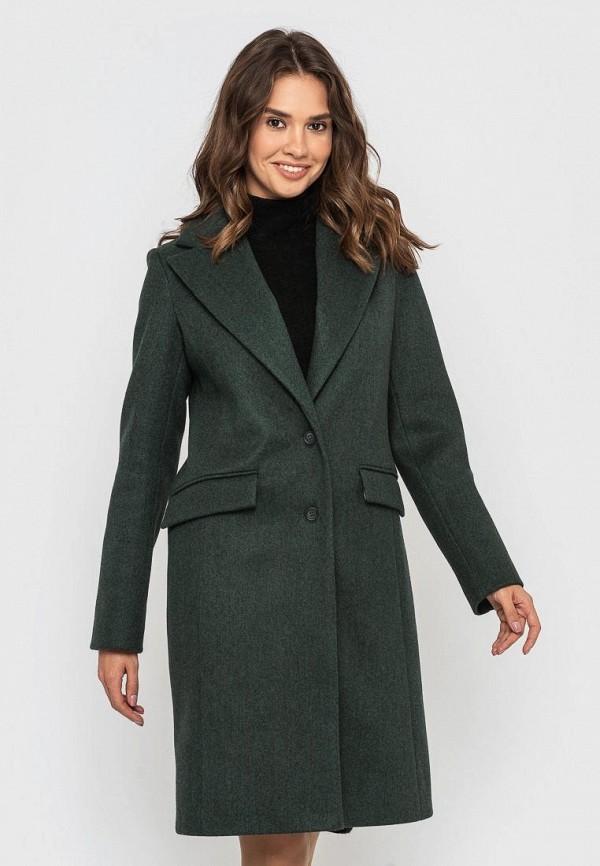женское пальто sfn, хаки