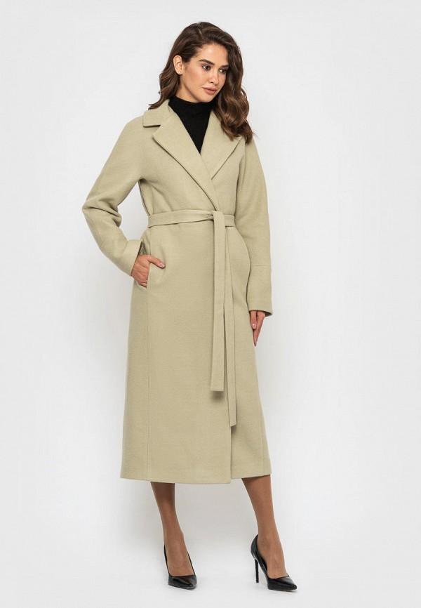 женское пальто sfn, бежевое