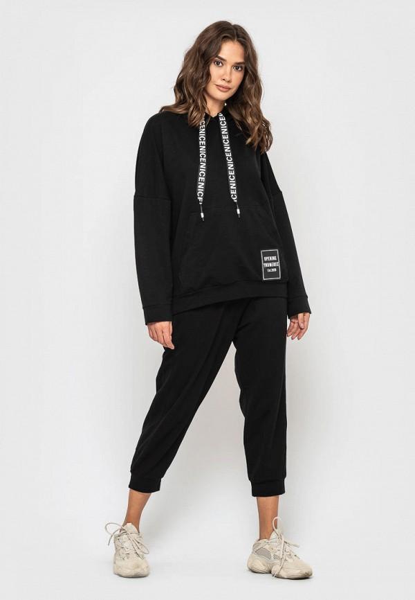 женский спортивный костюм sfn, черный