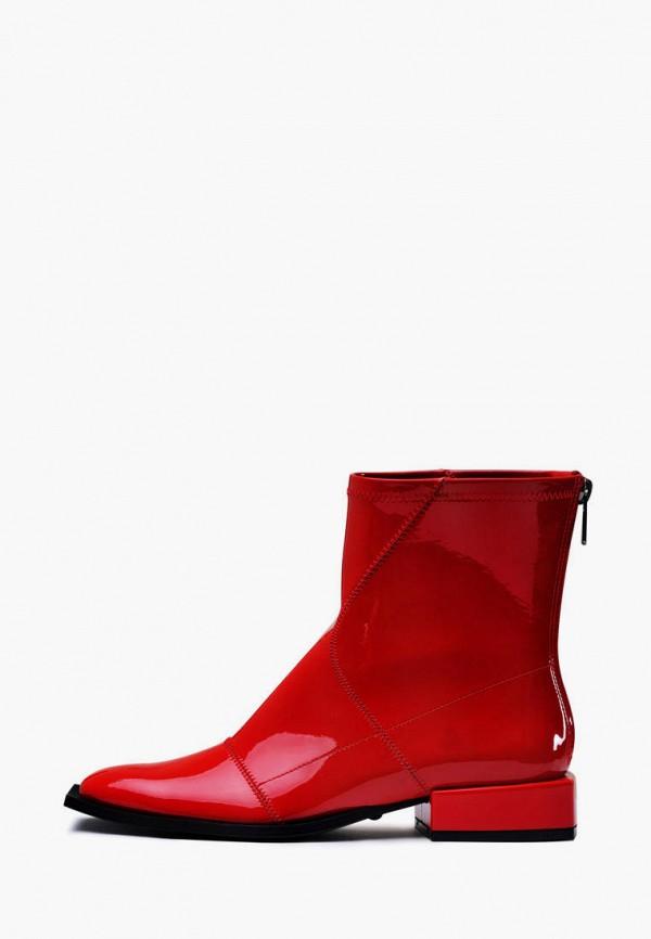 женские ботинки modus vivendi, красные