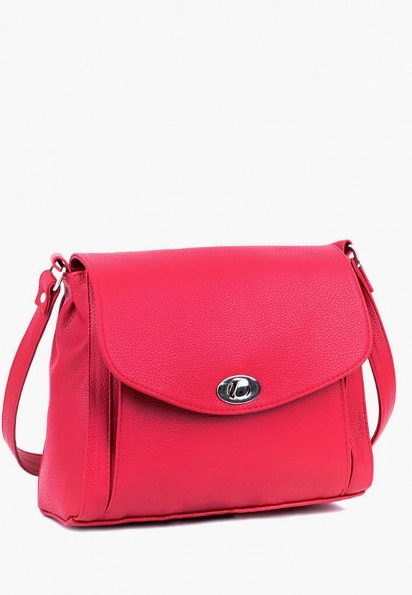 женская сумка через плечо vita, розовая
