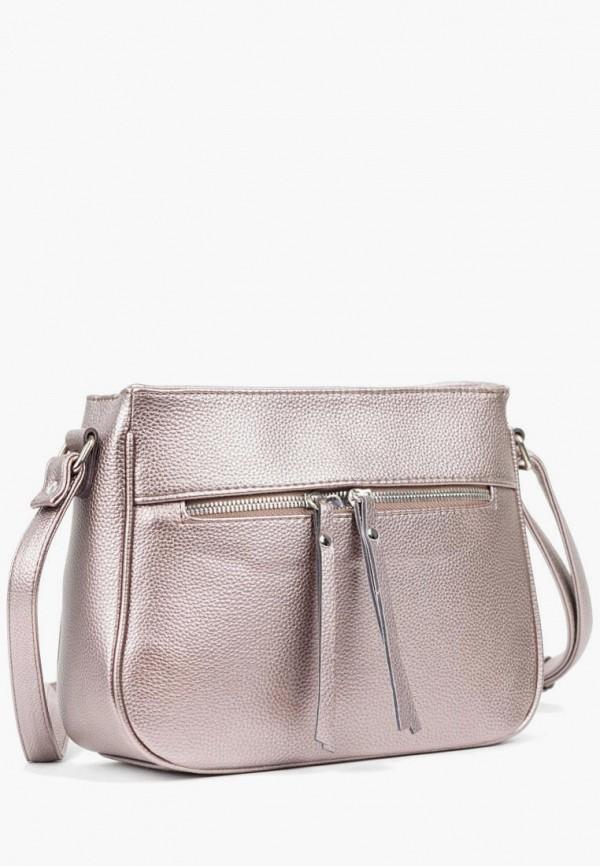 женская сумка через плечо vita, бежевая