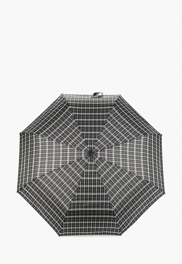 женский складные зонт goroshek, черный
