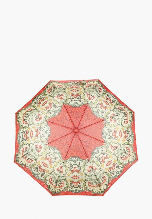 женский складные зонт goroshek, красный