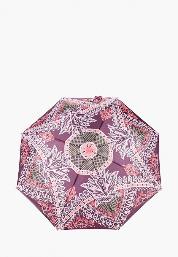 женский складные зонт goroshek, бордовый