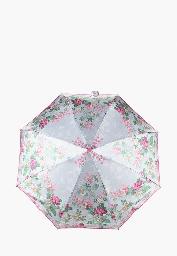 женский складные зонт goroshek, серый