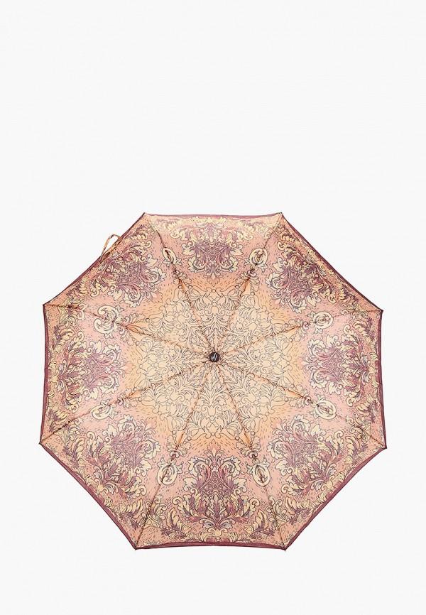 женский складные зонт goroshek, коричневый
