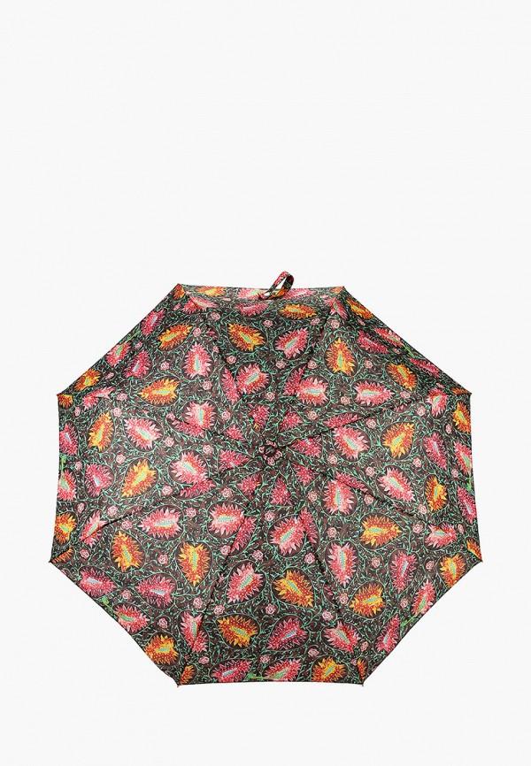 женский складные зонт goroshek, зеленый